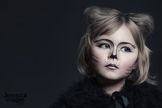 Cat costume and makeup idea