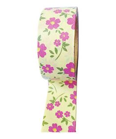 Another great find on #zulily! Floral Washi Tape by Koyal Wholesale #zulilyfinds