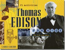 This is a great idea about the inventor Thomas Edison. Even though this idea uses a book, the assessment questions are challenging for students to think about Thomas Edison. *AF
