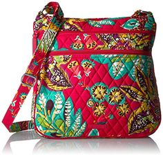 Cross-Body Bags Vera Bradley Triple Zip Hipster, Rumba - Boutique Page Vera Bradley Handbags, Vera Bradley Tote, My Style Bags, Steam Punk Jewelry, Nylon Bag, Cross Body Handbags, My Bags, Wallets For Women, Zip Around Wallet