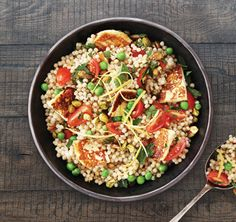This haloumi-based salad can be made up to eight hours ahead of time and travels well, so it's ideal for a barbecue or potluck dinner. Lovingly created by Annabel Langbein.