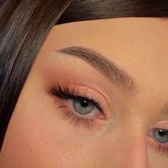 Cute Makeup Looks, Makeup Looks Tutorial, Makeup Eye Looks, Natural Makeup Looks, Pretty Makeup, Soft Eye Makeup, Eyeliner Tutorial, Natural Lips, Gorgeous Makeup