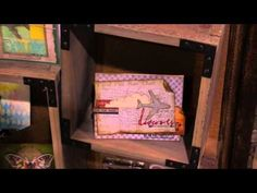 New Tim Holtz from Sizzix - CHA 2015 Video