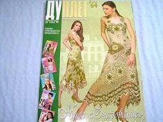Crochet pattern magazine Duplet Creative Women promo Dress Crochet Top Skirt #64 | eBay
