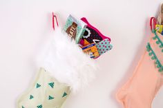 6 Creative Ways to DIY Your Holiday Stockings via Brit + Co.