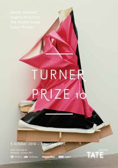 Turner Prize 2010 Poster Angela De La Cruz