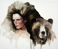 Paintings by Jen Mann