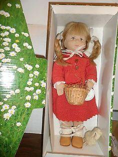 Karin Heller Artist Cloth Dolls Made in Germany   eBay