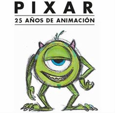 Pixar, 25 years of animation - Amsterdam Expo Hollywood Music, Happy Birthday To Us, Pixar Movies, Animation, Monsters Inc, Disney Family, Pet Shop, Amsterdam, Hello Kitty