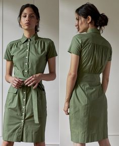 Duchess of Sussex concluded the penultimate day of Royal Tour South Africa with a visit to ActionAid - a gender based violence education club in Johannesburg. Meghan wore a khaki Room 502 'Model 2 - Stephanie' Dress. Japanese Ginger, Pippa Small, Silk Coat, Maternity Skinny Jeans, Green Satin, Gucci Black, Meghan Markle, Duke And Duchess, Victoria Beckham