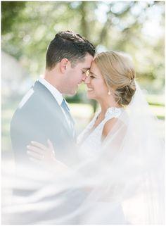 Wedding photos with a veil at The Orlo || The Ganeys