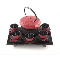 Tea on pinterest tea sets tea gifts and bone china - Imperial dragon cast iron teapot ...