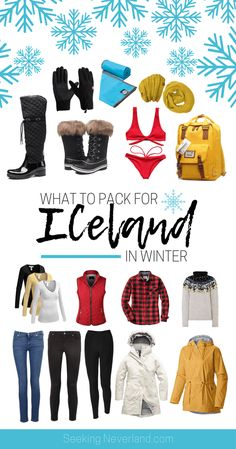 Iceland Packing List for Winter: Women's Edition What to pack for Iceland in winter. Packing essentials for women. Your guide on how to look warm and stylish in Iceland this winter. Packing For Europe, Winter Packing, Packing List For Travel, Winter Travel, Packing Tips, Winter Europe, Traveling Europe, Travel Style, Travel Fashion