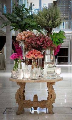 Wedding Concepts did this elegant display of fynbos. Home Wedding, Dream Wedding, Floral Wedding, Wedding Flowers, London Decor, Wedding Boxes, Wedding Ideas, Bloom Where You Are Planted, Some Ideas