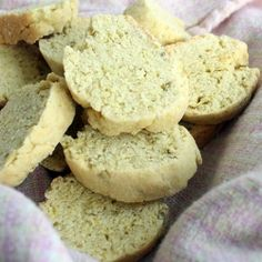 Savory biscotti made with garlic and fennel seeds.