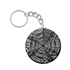 Black Death 777 - Circles Key Chains