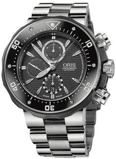 c555c93b874 Oris PRO DIVER Mens Watch Model  674.7630.71.54.MB Amazing Watches