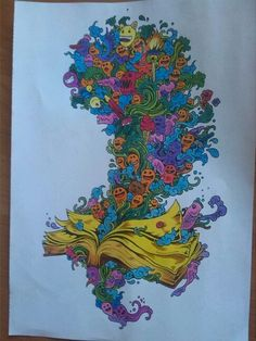 Coloring By Karole Potter Doodle Invasion See More Books My Love
