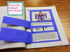 Foldable/flipbook to introduce and learn about plant adaptations to your students for FREE!! The patterns come for both English and Spanish!