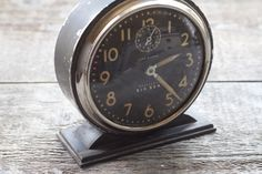 vintage alarm clock : westclox big ben 4a loud alarm by 24pont. $55.00, via Etsy.