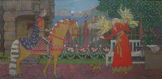 The Suitor (1905). Gerhard Munthe. - https://wp.me/p6qjkV-kNr  #Art