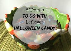 5 Things to do with leftover Halloween candy!  - NY Foodie Family