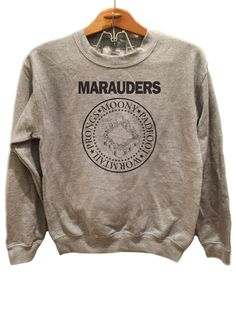 Marauders Ramones Theme - Sweater Available sizes for this listing are Small, Medium, Large, Extra Large, 2XL, 3XL. All sizes are standard sizes. Crew Neck sweatshirt Image is sublimated onto the 50%