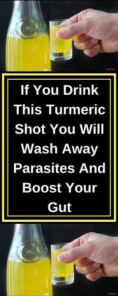 Holistic Health Remedies If You Drink This Turmeric Shot You Will Wash Away Parasites And Boost Your Gut Holistic Remedies, Natural Health Remedies, Natural Cures, Herbal Remedies, Natural Healing, Turmeric Shots, Turmeric Drink, Turmeric Health, Turmeric And Honey