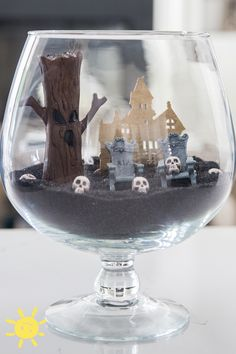 Found on whatsupmoms.com #terrarium #halloween #spooky #hauntedhouse