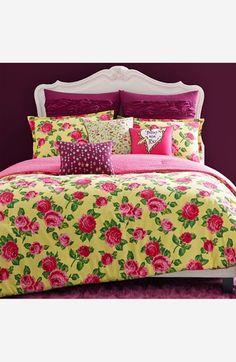 Betsey Johnson Bedding 'Garden Variety' Comforter Set available at #Nordstrom