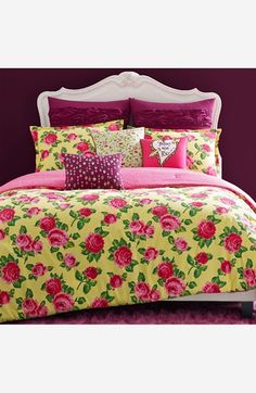 Betsey Johnson Bedding 'Garden Variety' Comforter Set available at #Nordstrom
