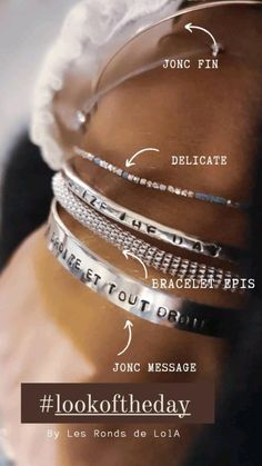 Bracelets, Bangles, Messages, Fine Jewelry, Ears Of Corn, Bangle Bracelet, Necklaces, Jewerly