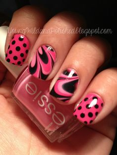 Young Wild and Polished nail design