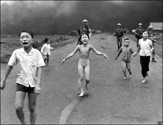 But it was also a war where images changed public opinion - images such as this by Nic Ut of nine-year-old Kim Phuc.