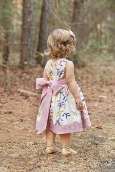The Party Dress Free Pattern: Re-release! - The Cottage Mama
