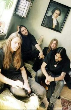 Opeth, my favorite death metal band, in their best line-up (IMO).