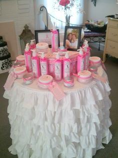 """Mabelicious"" Body Cream, Lotion and Soy candles. All made by Mizz Kim's Creations. 25% of purchase goes to support the National Breast Cancer Foundation. Find at www.mizzkim.net"