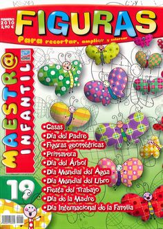 Clica sobre el enlace y podrás visualizar la revista completa.                    1         2         3         4         5             6  ... Art Projects, Kindergarten, Album, Christmas Ornaments, Holiday Decor, Crafts, Nuevas Ideas, Vocabulary, Editorial