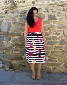 This weeks most viewed beautiful blogger #thedailylace #linkupwithlisa