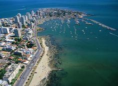 Depuis mon hublot: Punta del Este, Uruguay