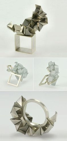 TheCarrotbox.com modern jewellery blog : obsessed with rings // feed your fingers!: Rose Warner / IP Jewelry Design (Izabella Petrut)