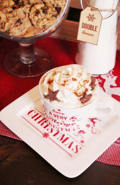 Bird's Party Blog: How to Style a Hot Cocoa Bar for the Holidays
