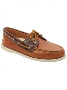 Sperry Top-Sider Gold Cup Authentic Original 2-Eye Boat Shoe Tan ...