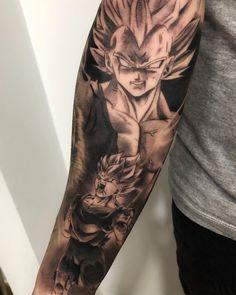 Las 28 Mejores Imágenes De Tatuajes Goku En 2019 Drawings Dragon