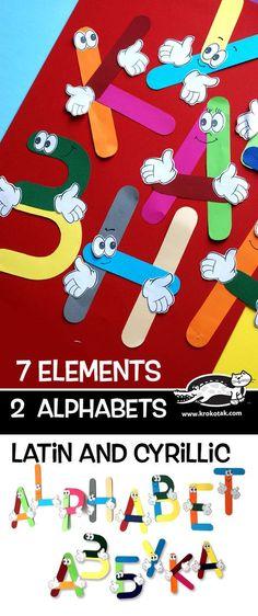 7 elements – 2 alphabets