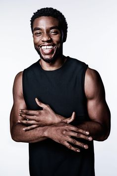 Chadwick Boseman -- known for playing characters forging new ground -- takes on another trailblazing role as Marvel's king of Wakanda. Black Panther Marvel, Black Panther Chadwick Boseman, Black Is Beautiful, Gorgeous Men, Beautiful Boys, Beautiful People, Macho Alfa, Handsome Black Men, Handsome Guys