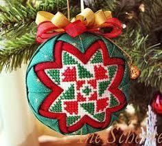 Картинки по запросу пэчворк картинки Star Ornament, Xmas Ornaments, Christmas Cross, Christmas Balls, Cross Stitch, Embroidery, Holiday Decor, Home Decor, Holidays