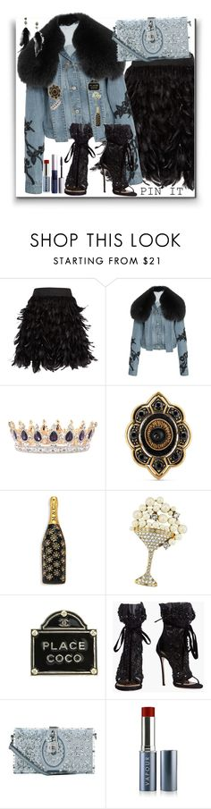 """""""Pins"""" by marionmeyer ❤ liked on Polyvore featuring Alice + Olivia, Jonathan Simkhai, Gucci, Marc Jacobs, Chanel, Dsquared2, Dolce&Gabbana, Vapour Organic Beauty, ZuZu Luxe and Betsey Johnson"""