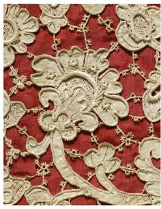 New Liturgical Movement: 17th Century Lace Paraments