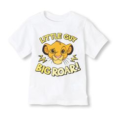 A must-have style if your little cub loves the Lion King! Disney Baby Rooms, Baby Disney, Lion King Clothes, Man Clothes, Royalty Baby Shower, Baby Boy Tops, Baby Boys, Baby Boy Outfits, Kids Outfits